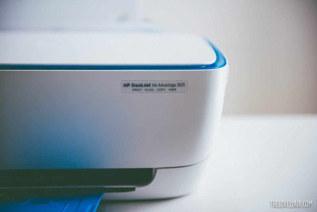 Review HP DeskJet 3635-1