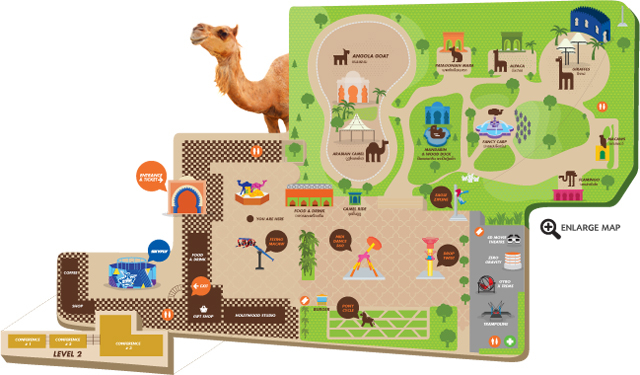 Camel Republic เที่ยวชะอำ สวนสนุก