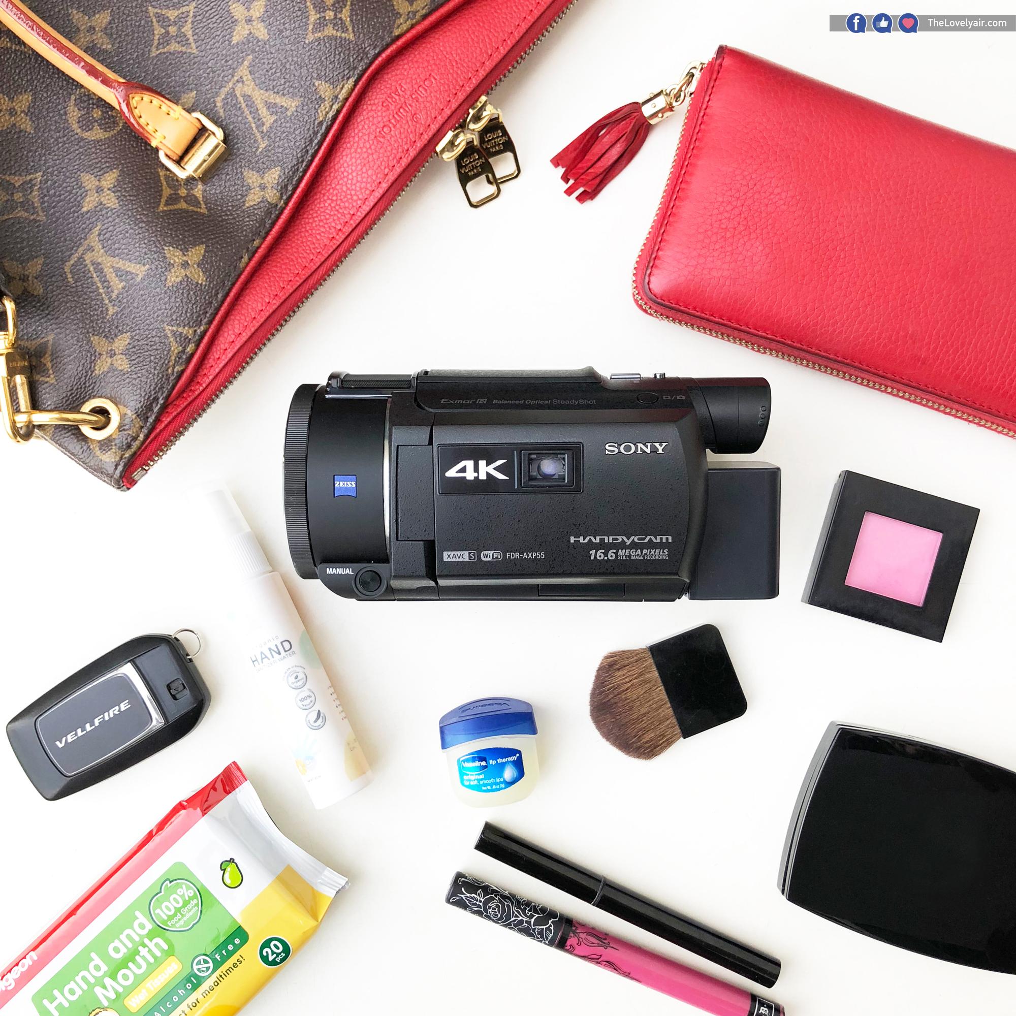 กล้อง กล้องวีดีโอ Sony 4K FDR-AXP55