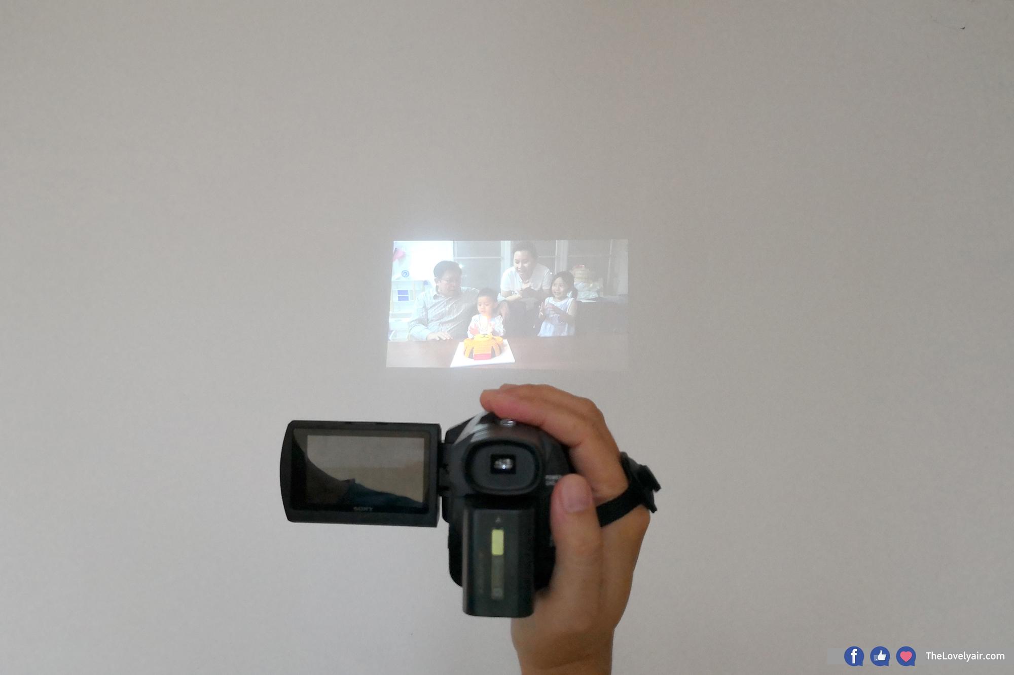 กล้อง กล้องวีดีโอ Sony 4K FDR-AXP55 - 4